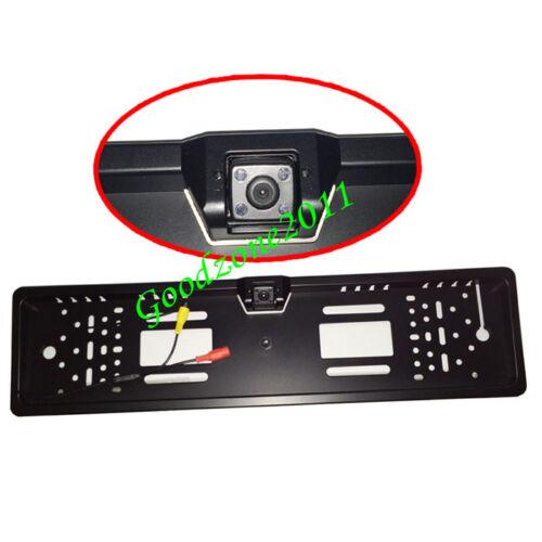 "4 LED IR Rückfahrkamera Nummernschild Kamera 170° 7/"" KFZ Monitor Rückansicht"