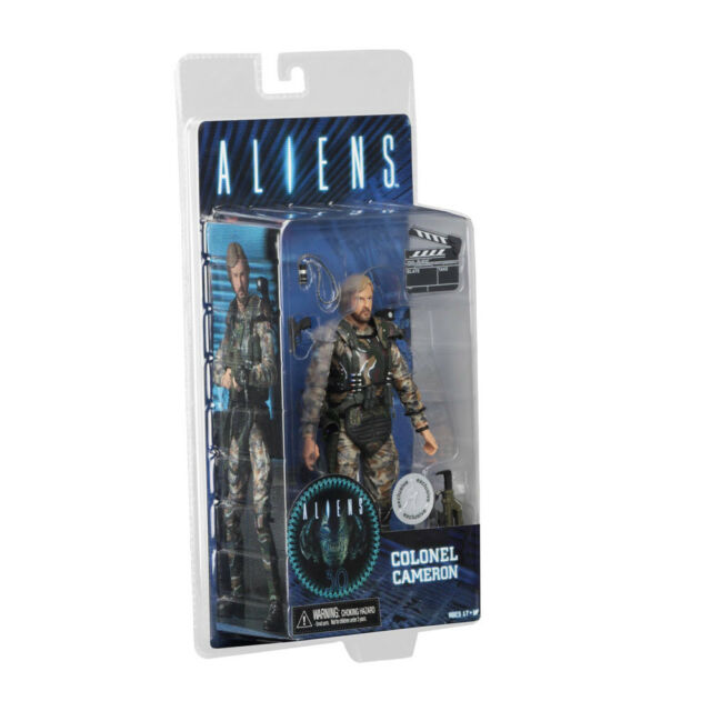 "7 "" Neca Aliens 30th Anniversary Colonel James Cameron Director Action Figure"