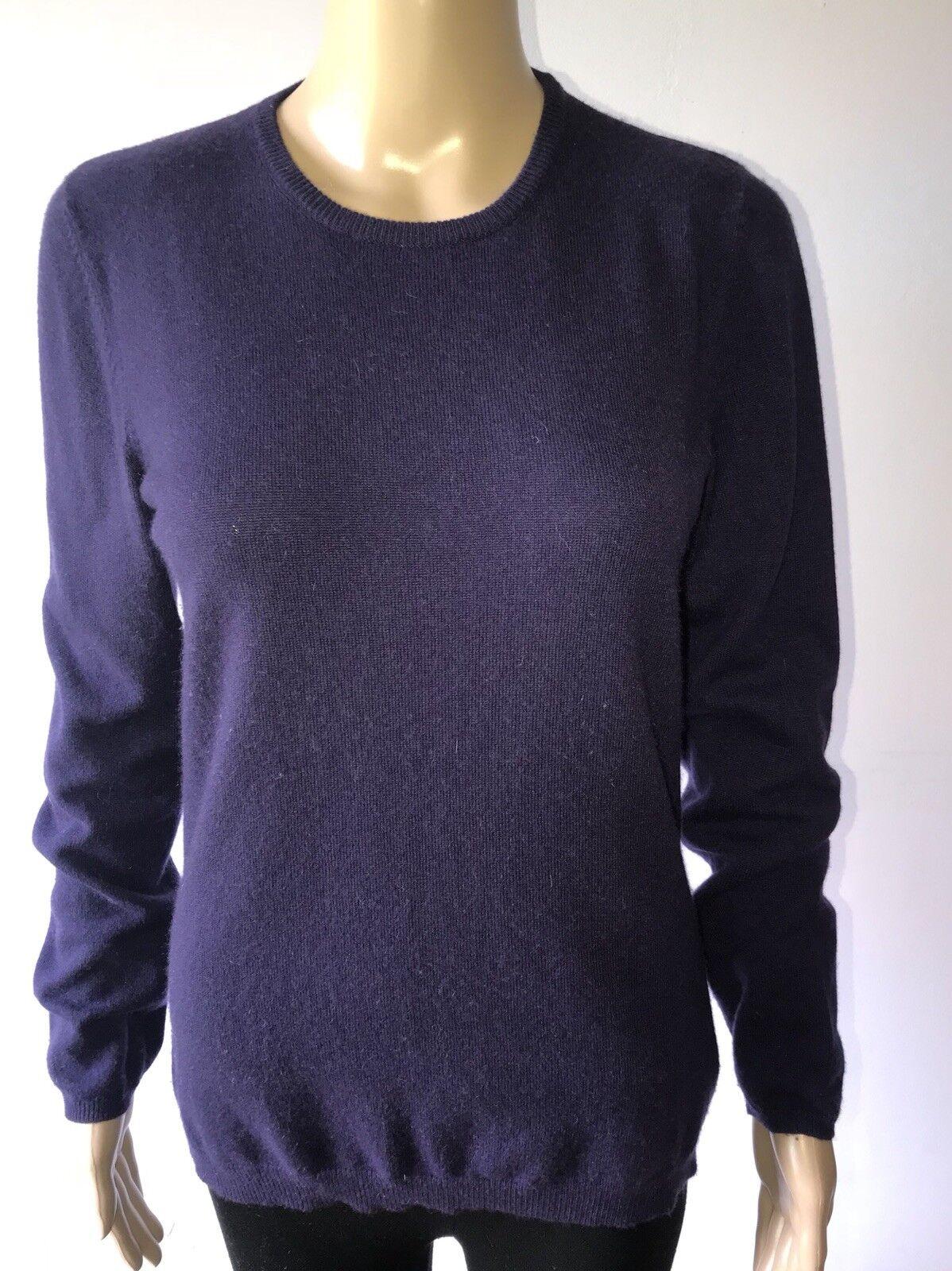 Brunello Cucinelli Purple Cashmere Sweater  Size L