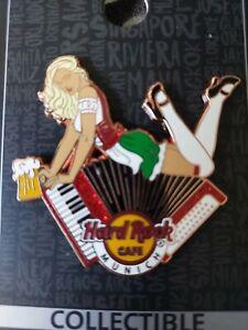 Hard Rock Cafe Munich Core Accordion Girl Pin