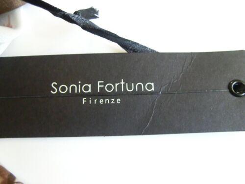 Fortuna Firenze braun Sonia Kleid Damen rose Weiß Geblümt H4zaq