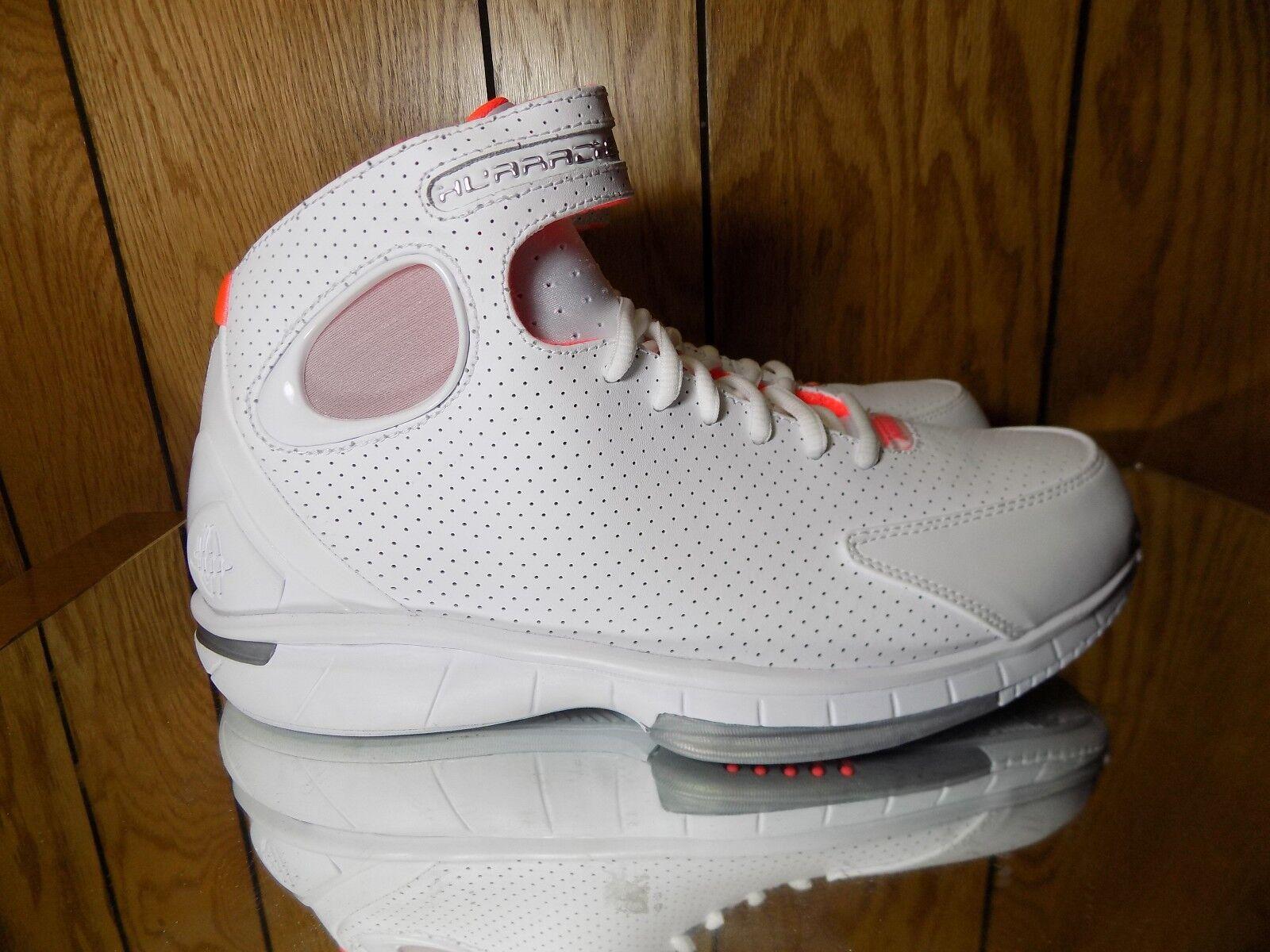 Nike Men Air Zoom Huarache 2k4 Shoes 308475 102 White Lava Red s. 9.5