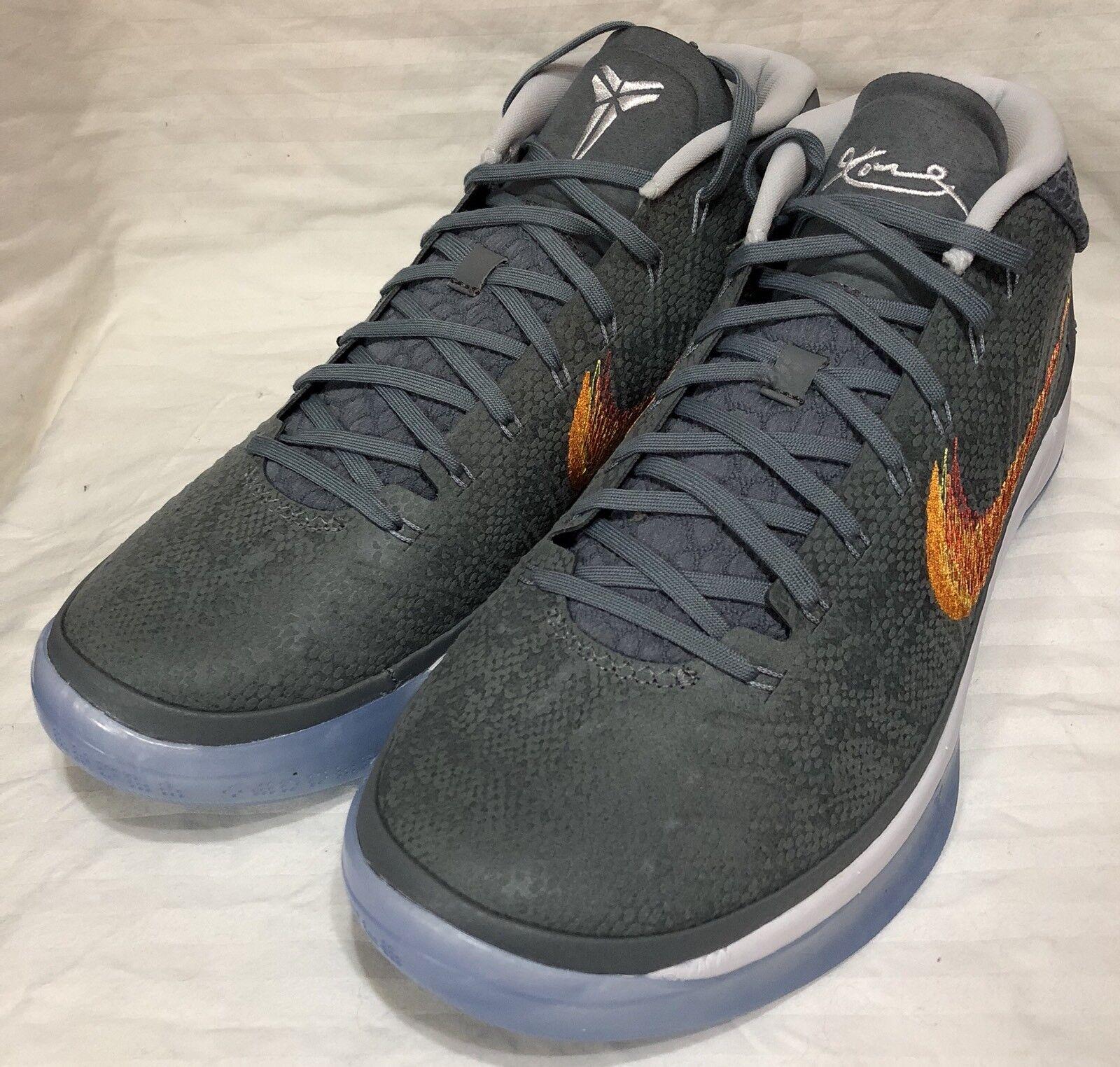 Nike Kobe AD Chrome/Habanero Red 922482-005 Basketball Shoes Size 10 922482-005 Red bbe052