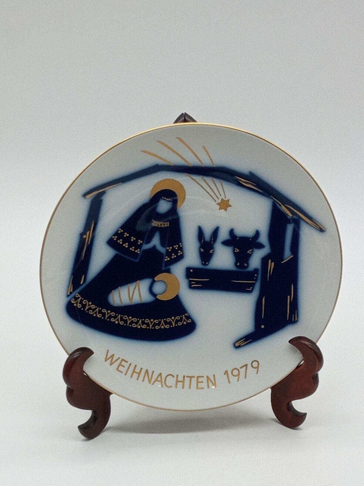 Image 1 - NICE-KPM-Wall-Plate-Limited-Edition-Christmas-1979-Diameter-19-5cm