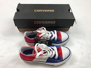 c177f5a42e30 BRAND NEW Converse Fly Your Colors American Flag Youth Size 11.5 ...