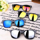 New Vintage Retro Men Women Round Metal Frame Sunglasses Glasses Eyewear Fashion