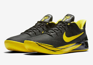 dc9cbb3cdfc3 Nike Kobe A.D. Oregon Ducks PE Size 11 Black Yellow Strike Bryant ...