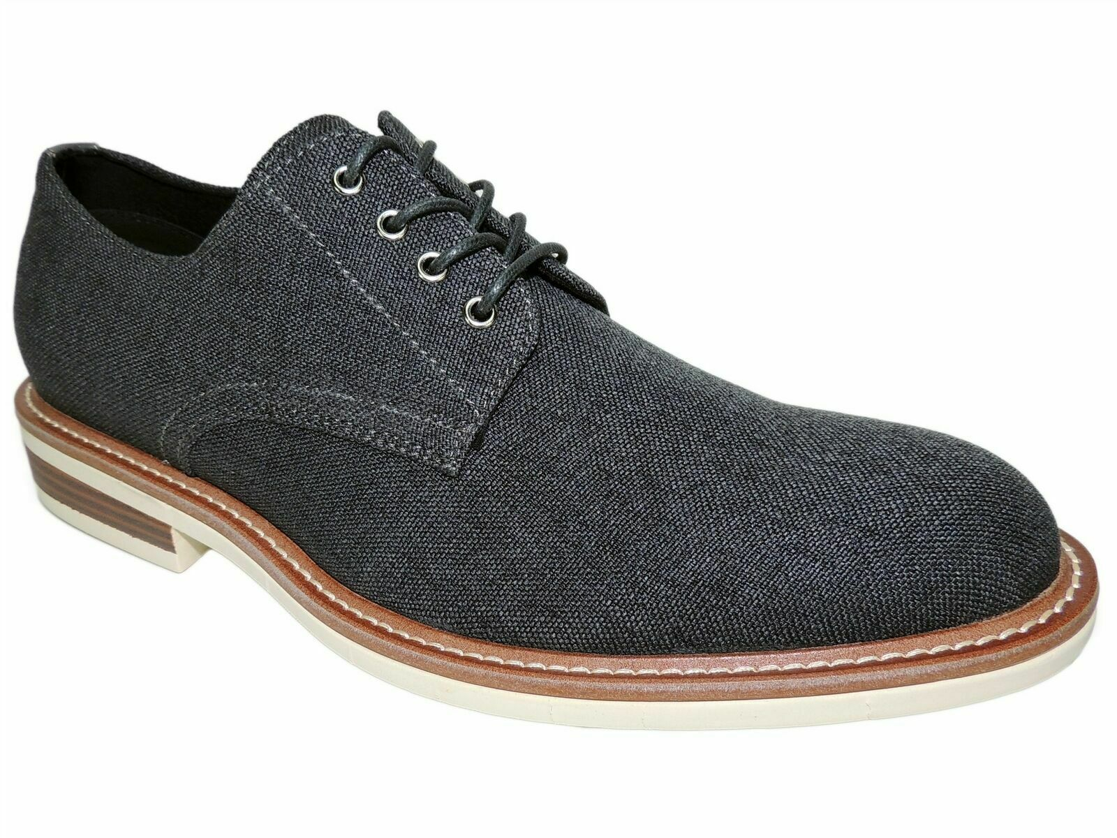 Men's Kenneth Cole Reaction Klay Flex Oxford Dress Shoes Steel Size US 7.5M B4HP