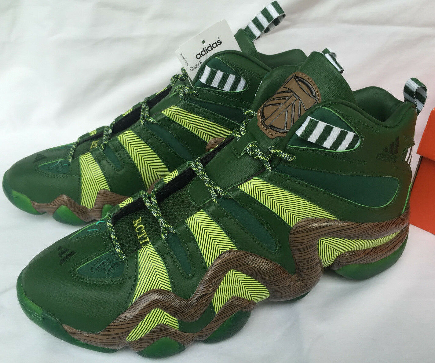 Adidas Crazy 8 Portland Timbers D69033 MLS Pondepink Basketball shoes Men's 11