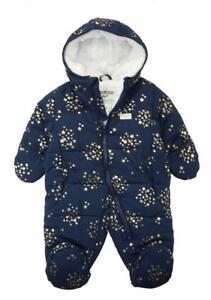 Osh Kosh B/'gosh Infant Girls Navy 2pc Heart Print Snowsuit Size 12M 18M 24M