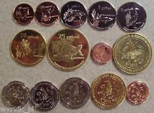 TATARSTAN 2013 full set of 7 coins UNC