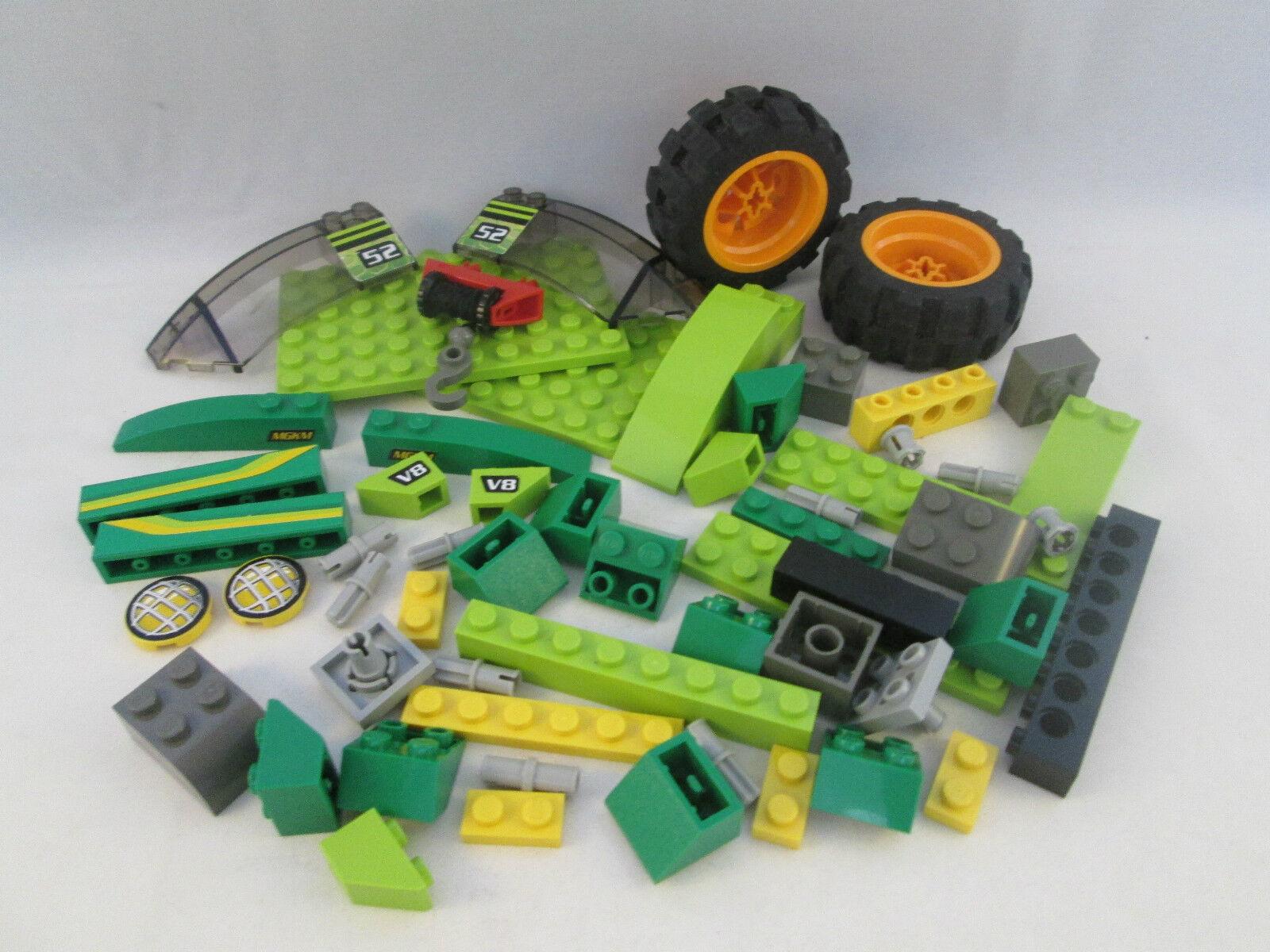 Lego Racers - 4589 4589 4589 RC Nitro Flash - Radio Control Infra rot a5de59