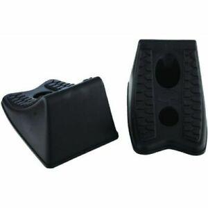 Set of 2 Custom Accessories 59993 ABS Wheel Chock,