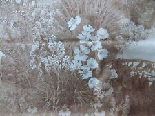 WtW Fabric Wild About Nebraska Shop Hop Landscape Nature Floral BTY Quilt