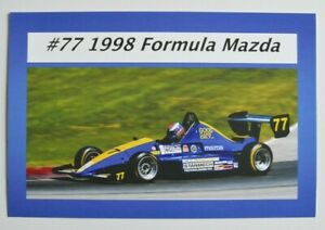 Paul-Subject-Formula-Mazda-1998-Official-Postcard