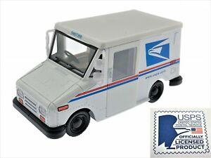 "5"" Kinsfun USPS LLV United States Postal Service Mail Diecast Toy Car Truck 1:36"