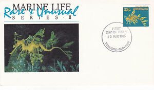 AUSTRALIA-20-MARCH-1985-MARINE-LIFE-II-OFFICIAL-FIRST-DAY-COVER-SHS