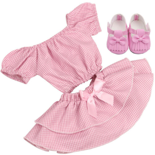 for 18 inch doll dress unicorn suit with shoes American girl doll clothes