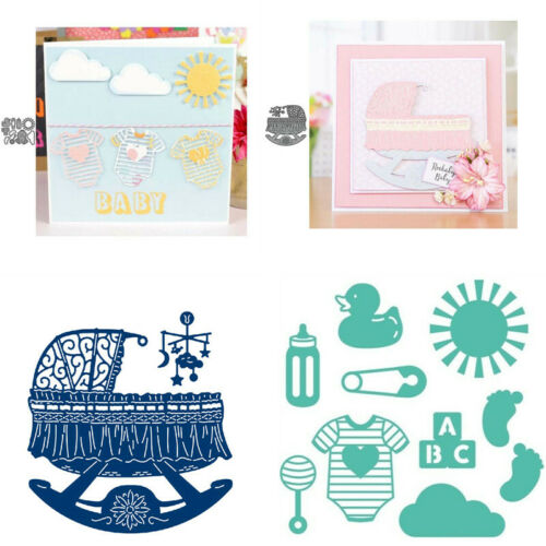 Baby Cradle Toys Metal Cutting Dies Embossing Stencils Card Making  DIY Crafts