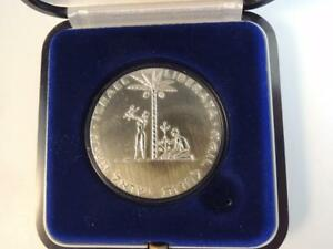 1961-1958-Liberation-1st-Judea-Capta-State-Medal-35mm-30g-Silver-GIFT-BOX