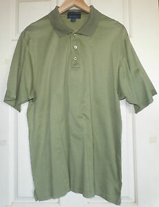 COUNTRY-CLUB-by-FLETCHER-JONES-Size-M-Khaki-Tshirt