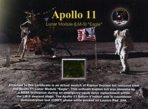 Apollo-11-Lunar-Module-Kapton-Foil-Gorgeous-Certificate
