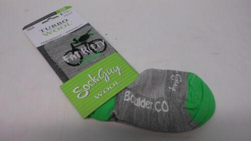green Fat Kitty Cycles Boulder CO SockGuy bicycle bike wool socks light grey