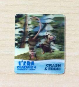 CARD KINDER MERENDINE -SERIE- L'ERA GLACIALE 4 - MINI CARD N°17 CRASH & EDDIE iJ7FuVZ3-09120215-812688382