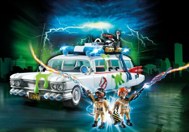 PLAYMOBIL GHOSTBUSTERS #9220 GHOSTBUSTERS Ecto-1 - New Factory Sealed