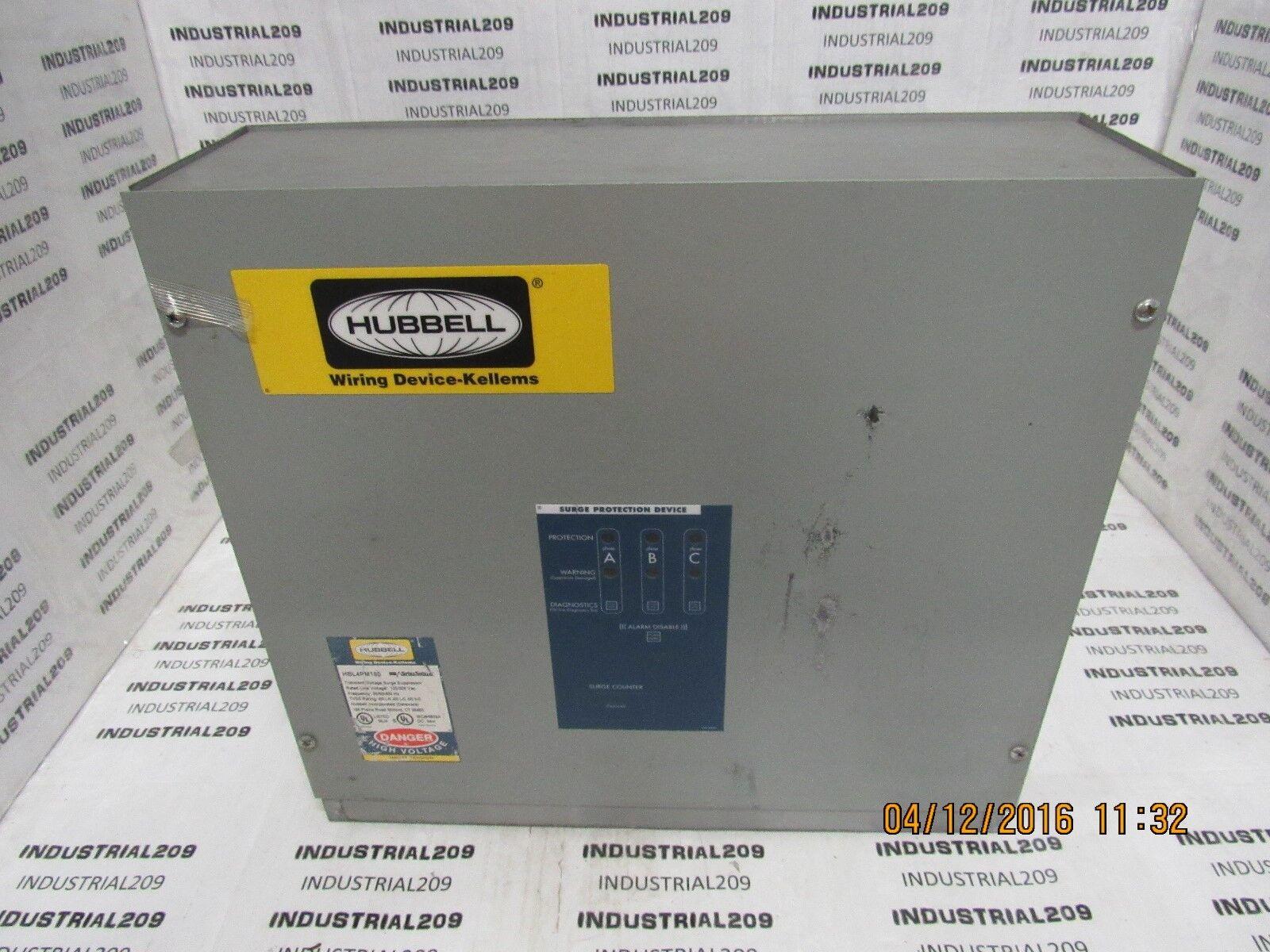 White Nylon 30A 3PH 120//208V AC Hubbell HBL2816-4P5W L21-30R