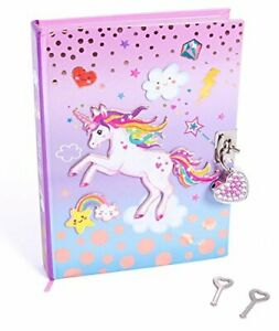 Style-Girlz-Unicorn-Secret-Diary-With-Lock-and-Keys-Girls-Journal-Notebook-Wit