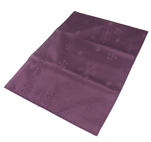 Purple Snowflake Design Christmas  Placemats//Table Mats pack of 4