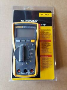 Details about Fluke 115 Compact True-RMS Digital Multimeter P/N 2538790