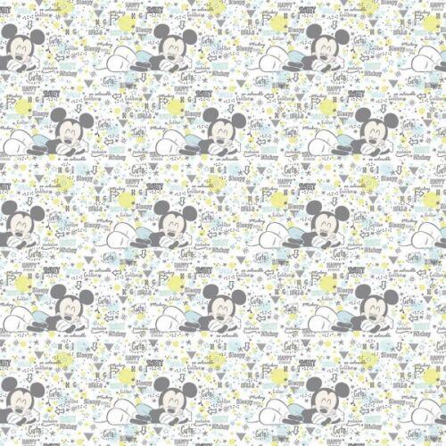 100/% Algodón Patchwork Tela Springs Creative Disney Peekaboo Mickey Baby