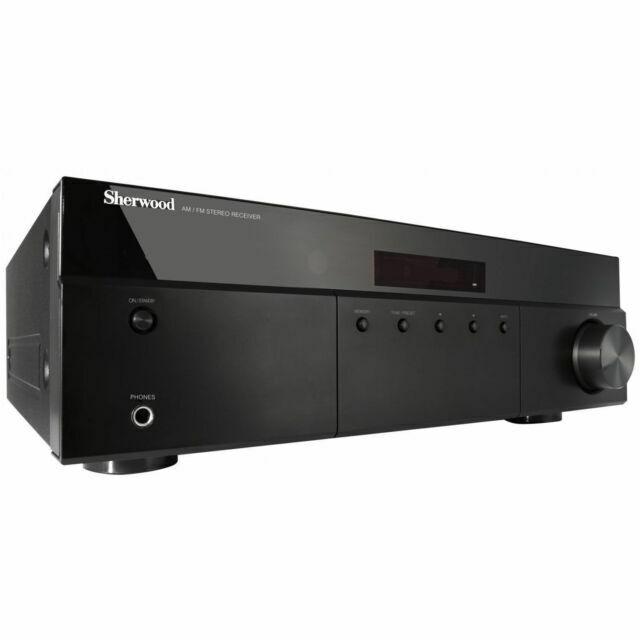 rx4208 200w am fm stereo receiver black
