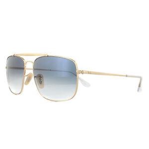 78e4887c30 Ray-Ban Sunglasses The Colonel RB3560 001 3F Gold Blue Gradient ...