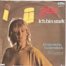 """7"""" Gitte Ich bin stark / Ich bin wie Du, Du bist wie ich 80`s Metronome"""