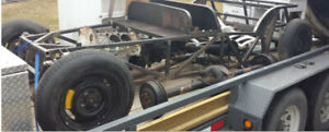 Lotus 7 Replica Rolling Chassis