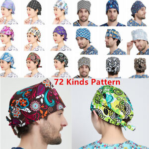 72-Kinds-Men-Women-Doctor-Nurses-Printing-Scrub-Cap-Medical-Surgical-Surgery-Hat