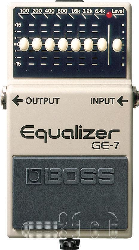 Boss GE-7 Grafik-Equalizer  Gitarren-Pedal  Neu Detroit Modular]