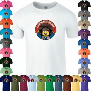 cc71803b0e6b3 Details about Everything is Awesome Kids T Shirt Funny Lego Gift Birthday  Boys Tee Top T-Shirt