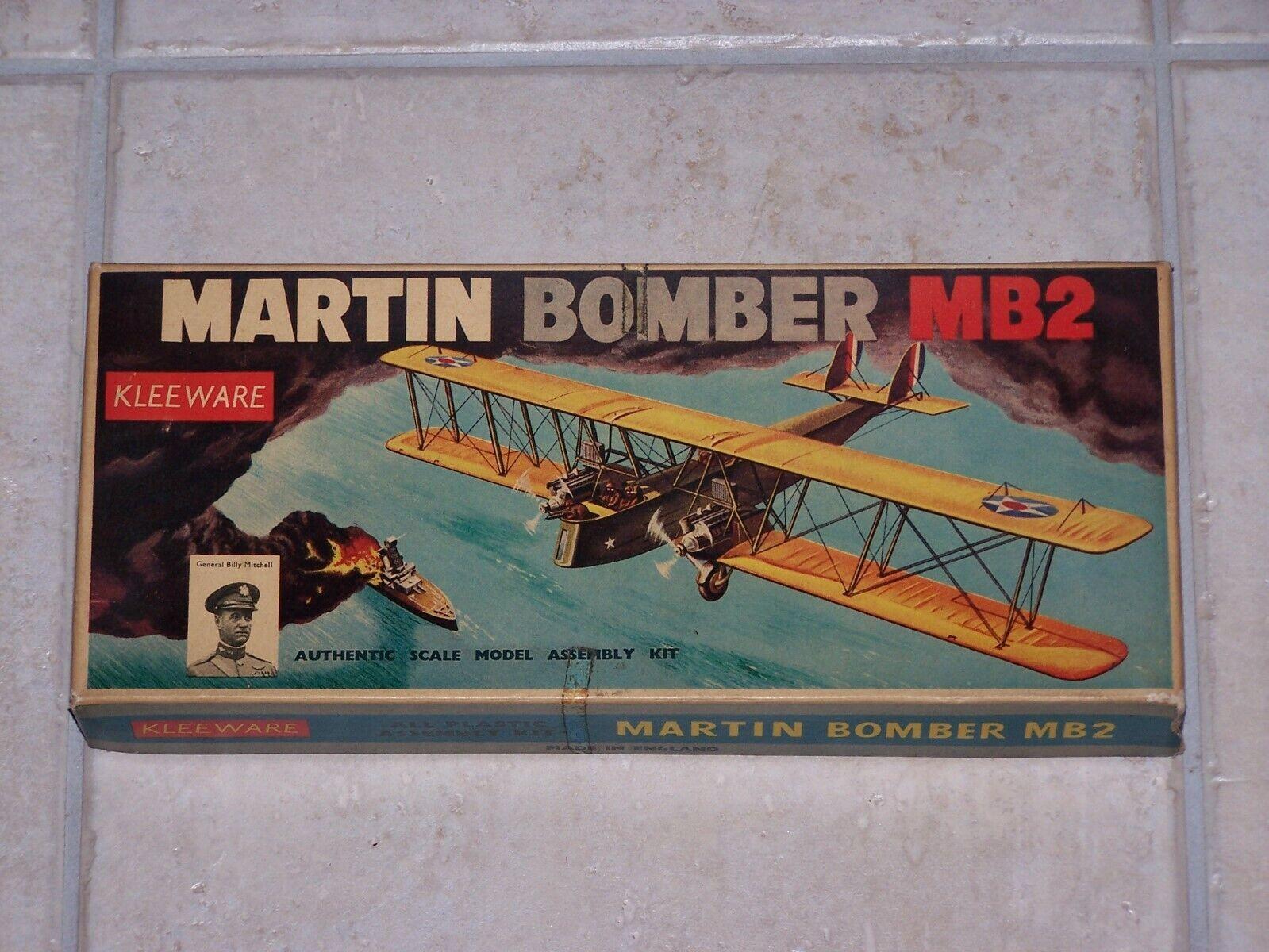 Maquette KLEEWARE 1 78ème MARTIN BOMBER MB2