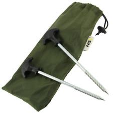 NEW Daiwa Mission Heavy Duty Bivvy Tent Pegs X10 DMTP1