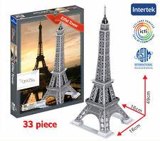 Eiffel Tower 3D Puzzle Paris France Famous Building Landmark Tower Gift Present