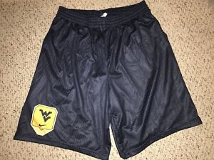 NEW-Nike-West-Virginia-Mountaineers-Team-Issued-Basketball-Practice-Shorts-3XL