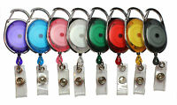 Premier Yo Yo Retractable Badge Reels For ID Card Ski Pass Holder Badge Reel lot