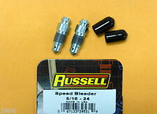 Brake Bleeder Screw-Speed Bleeder Rear,Front Russell 639530