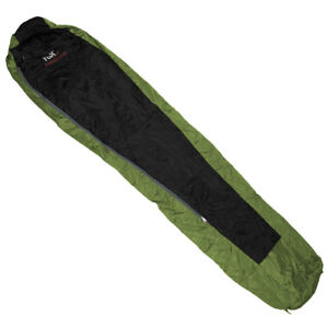 Fox Outdoor Sleeping Bag Duralight Travel Sleepover Warm Sack OD Green Black Camping & Outdoor
