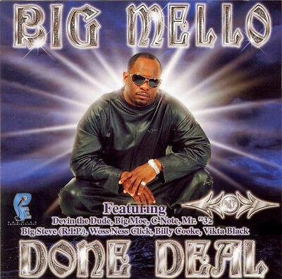 BIG MELLO DONE DEAL 2003 OOP RARE HTF !!! WOSS NESS SPM