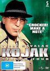 Kojak : Season 4 (DVD, 2012, 5-Disc Set)